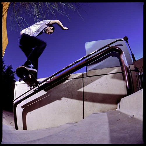 Kyle Timco Frontside Noseslide Deck Park Small