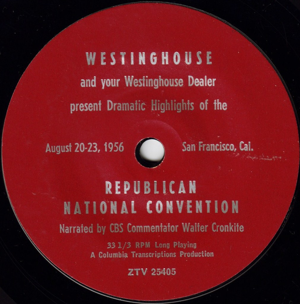 REPUBLICAN NATIONAL CONVENTION AUGUST 20-23, 1956