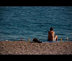 Sunbathing in November (mbaser) Tags: canon turkey türkiye sunbath antalya tamron beachpark eos450d