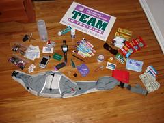 Pre-Race Prep - Race Bag