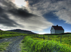 the House on the Hill - by Gunnar Valdimar