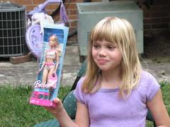 A Barbie!