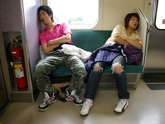 (TRUE 2 DEATH) Tags: railroad travel sleeping japan youth train geotagged japanese couple sleep jr camo jeans sleepy railcar tired transportation transit commute  nippon puma passedout akita tohoku railfan nihon akitaken exhausted noshiro peoplewatching wornout japn nihonjin assedout jreast  crashedout    japanrailways  akitaprefecture japan2007 thoku thokuregion geo:lat=3966161 geo:lon=14008564 imgp3135 thokuchiho unseenjapan 4701  2007adidas