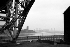 The Mersey (Fray Bentos) Tags: bridge liverpool river cheshire lancashire estuary powerstation runcorn widnes rivermersey