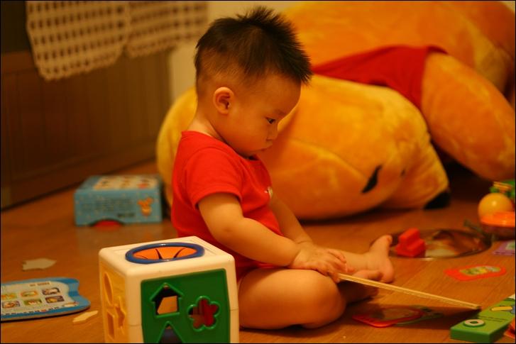 彥小白房玩(快1歲)21