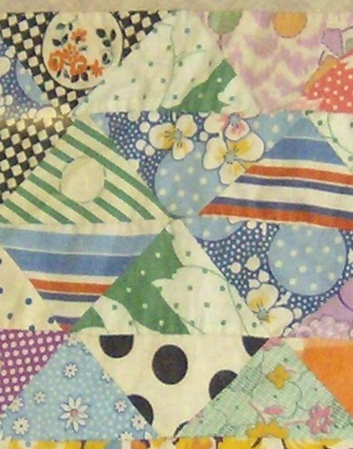 Detail of Antique Quilt Block