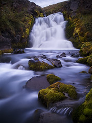 Instruments (Danel Starrason) Tags: nature water river flow waterfall iceland moss long exposure peace peaceful olympus e500 zd 1122mm hrgrdalur