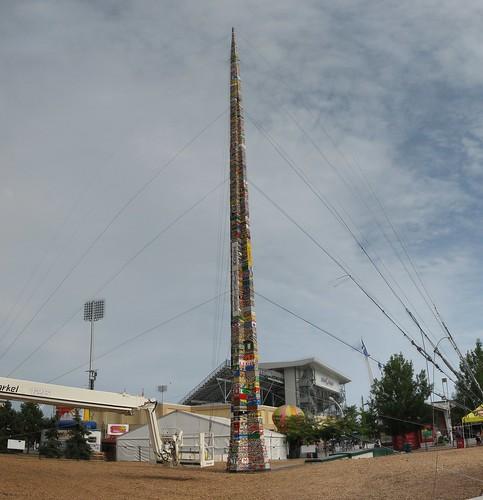 29,26m vysoká věž z Lega!