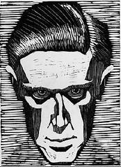 Escher - autoretrato 1919