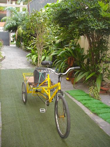 Triciclo em Ação