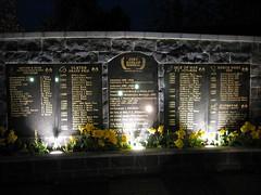 Joey Dunlop Memorial (Glenn Cartmill) Tags: uk ireland canon garden eos 350d memorial unitedkingdom glenn northernireland canoneos350d digitalrebelxt ulster joeydunlop cartmill northwest200 nw200 glenncartmill