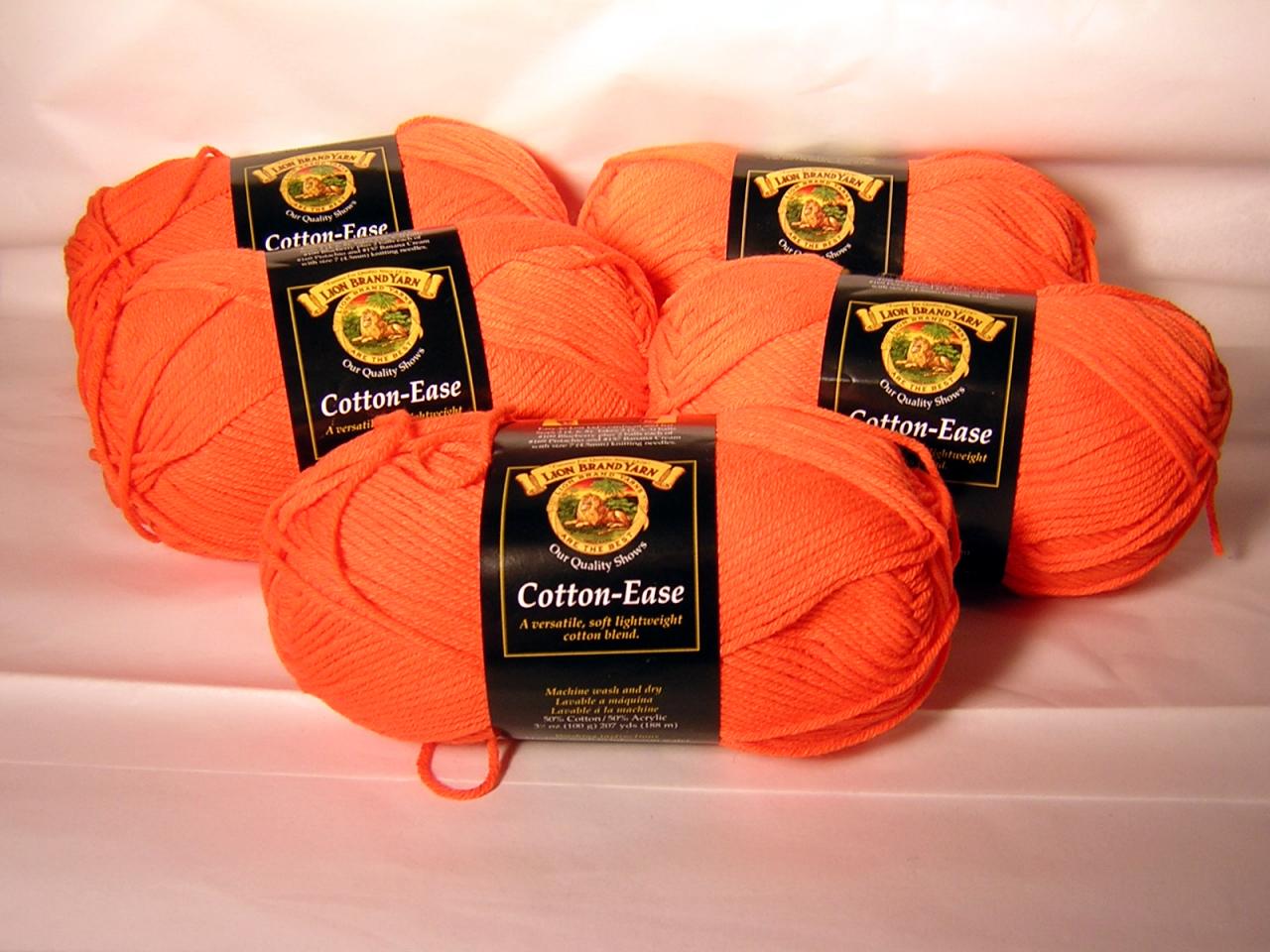Orangeade Cotton Ease x 5