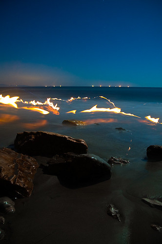 Fire Trails, Mesa Beach