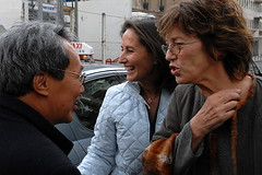 Jane Birkin, Segolene Royale and Dr. Sein Win in Paris, France