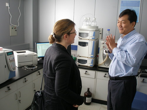 Niamh and Prof Zhang