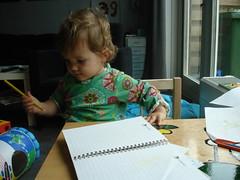 Noor tekent door (knoorvanwijngaarden) Tags: noor