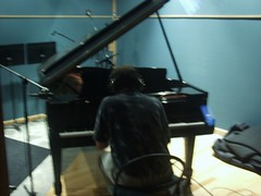 Piano overdubs