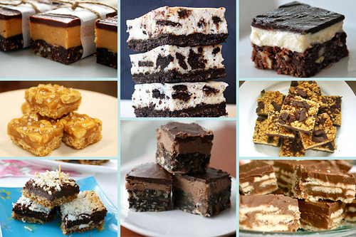 brownies and bars collage bars