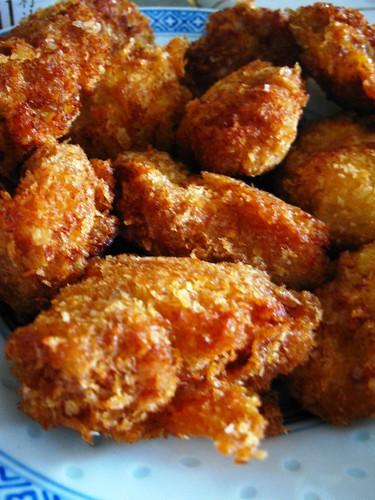 Fried Prawn and Pork Balls