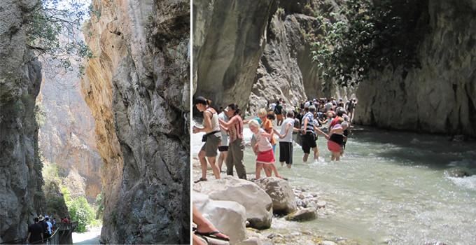 Saklikent kanjon en underbar national park