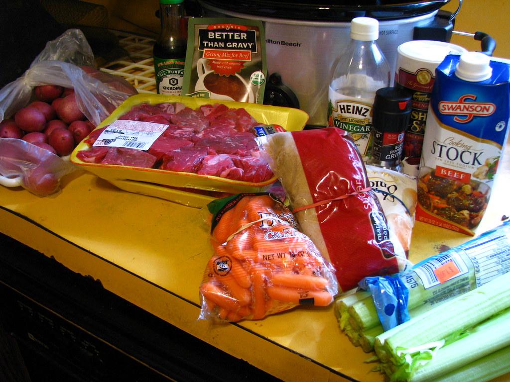 Slow Cooker Dinner - Beef And Beer Stew
