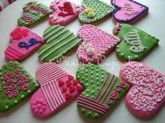 Cookies con diseño (Mily'sCupcakes) Tags: pink cookies princess disney diseño con toppers wrappers milyscupcakes