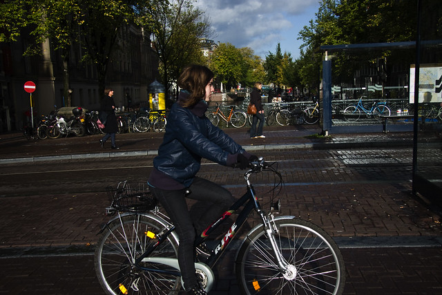 Amsterdam Cycle Chic - Passing By