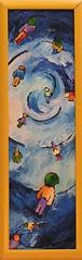 verso il blu (Roberto Valenzano) Tags: quadro colori artista quadri espressionismo dipinto astrattismo atrte versoilblu