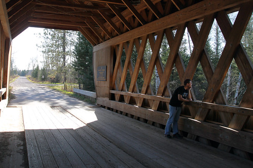 Me at Smith Rapids Covered Bridge