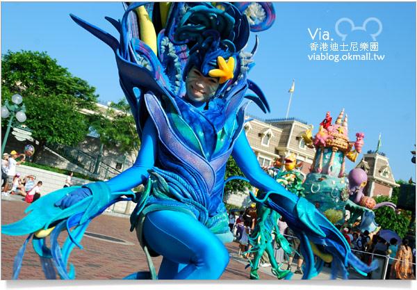 【香港迪士尼】跟著via玩香港(3)~迪士尼卡通人物歡樂巡遊31