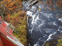 book mill 1 (Troy McCullough) Tags: autumn fall water creek river stream massachusetts rapids bookmill