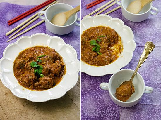 Vietnamese beef meatballs