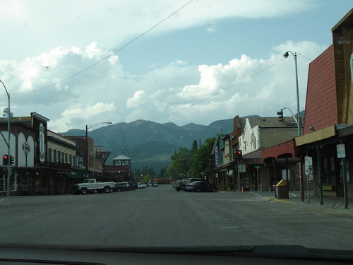 Downtown Whitefish.