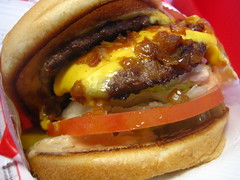 Double-Double Animal Style (rick) Tags: food cheese restaurant burger double cheeseburger hamburger dalycity doubledouble innout 2007 animalstyle