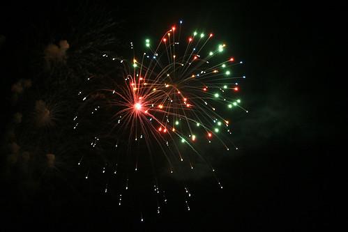 Fireworks in Evanston