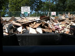 Truck at the dump
