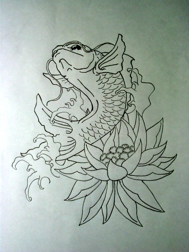 Angel fish tattoo design - photo#18