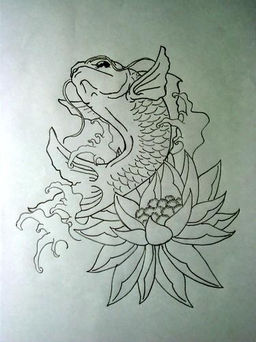 Angel fish tattoo design - photo#18