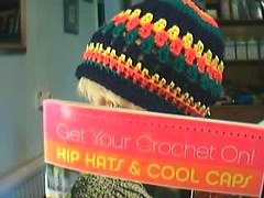 Crochet rastafarian coloured hat (fullbodiedwoman) Tags: crochet caps garments