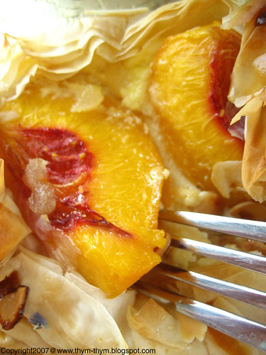 Peach and Ricotta Parcels