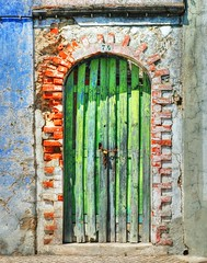 Door (CGoulao) Tags: door blue red green portugal catchycolors puerta decay porta porte 74 alcacerdosal alccer top20doors 25faves superaplus aplusphoto superhearts colourartaward goldstaraward