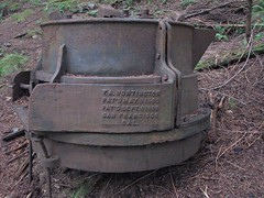 Ancient ore crusher