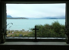 New Zealand South Island Lake Tekapo Church of the Good Shepherd (145) (pjwar) Tags: newzealand religion christian southisland laketekapo churchofthegoodshepherd christianity pjwar lpwindows