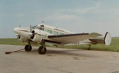 Beech E-18S (twm1340) Tags: cargo passenger beechcraft beech sps d18
