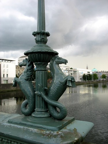 Seahorses by the Liffey