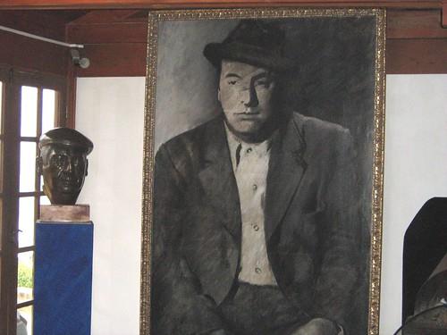 Neruda portrait