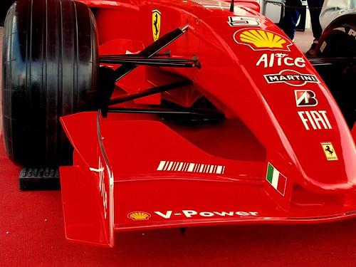 Red Ferrari F2000