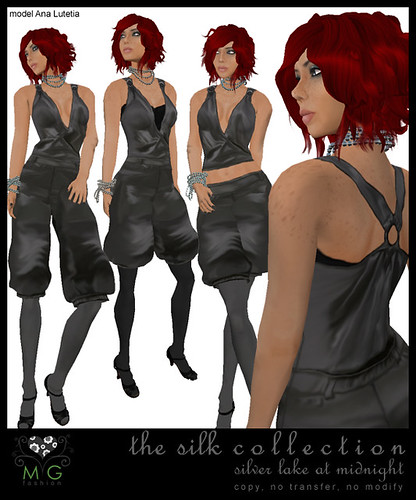[MG fashion] The Silk Collection - Silver Lake at Midnight
