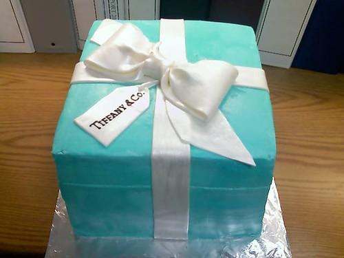 Tiffany+and+co+cake