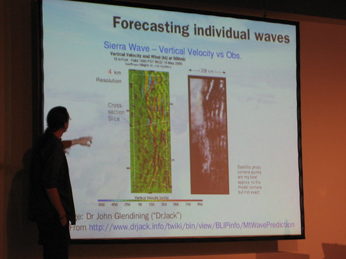 Hacking the atmosphere: Forecasting waves